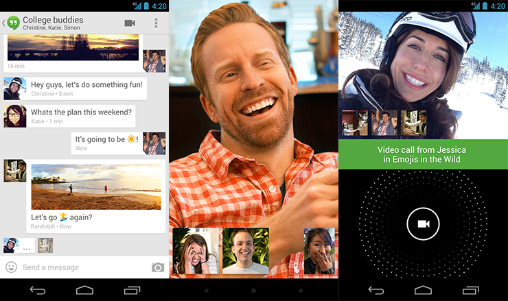 Android Hangouts