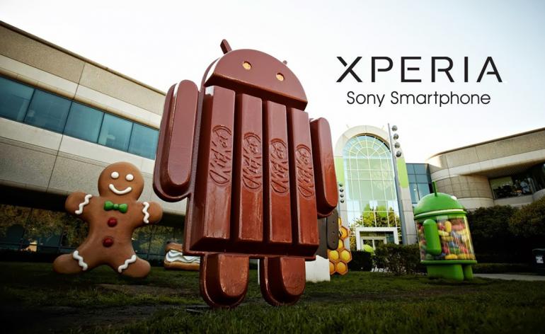 KitKat Sony Xperia