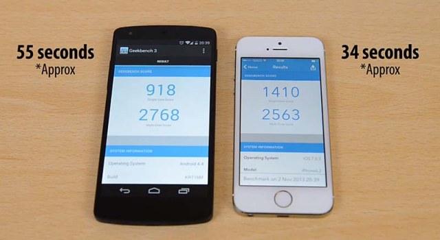 iPhone-5S-vs-Nexus-5-rendimiento