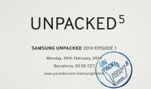 Samsung podría presentar el Galaxy S5 en el MWC