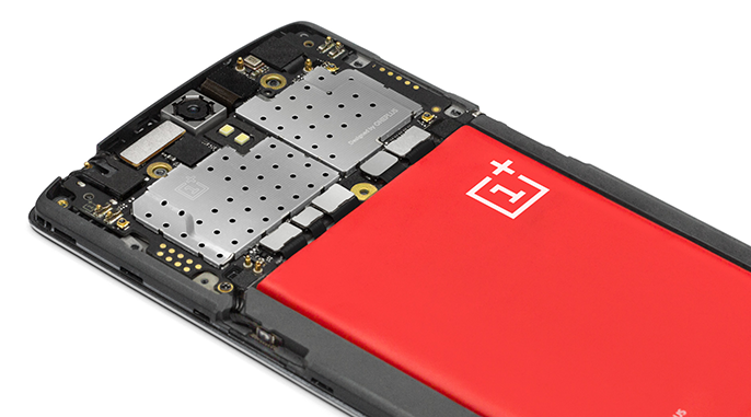 OnePlus One interior