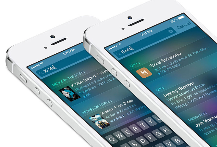 spotlight iOS 8