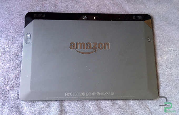 Amazon Kindle Fire HDX trasero 2