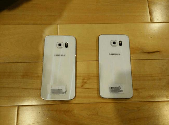 Galaxy S6 filtrado trasero
